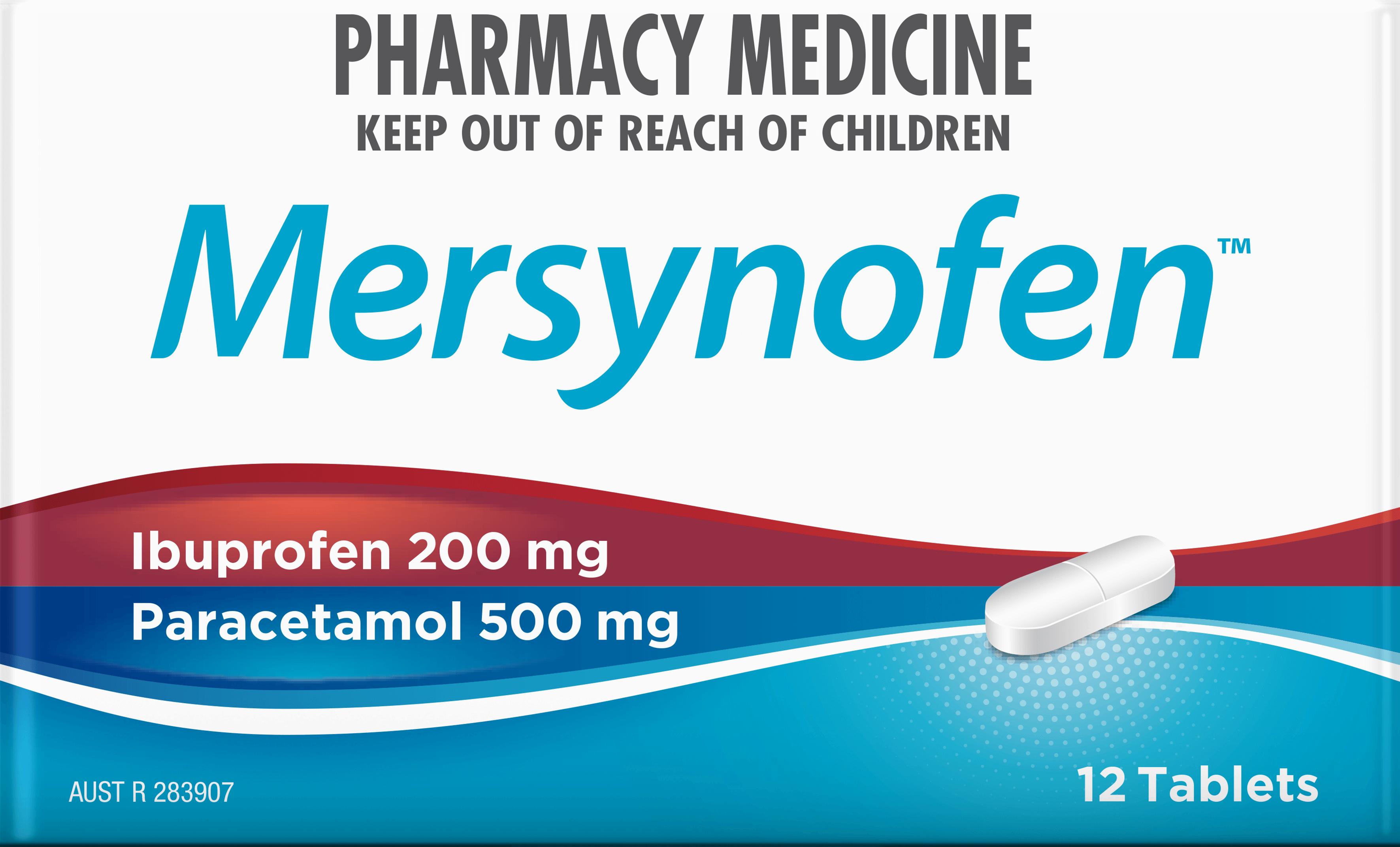 Mersynofen Pain Relief Tablets